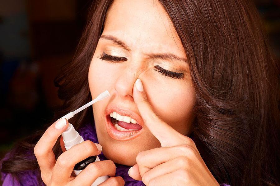 Назол: краплі в ніс при гаймориті, їх дія та застосування