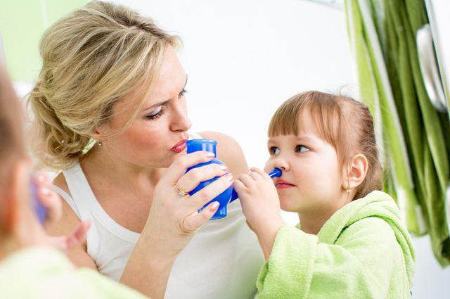 Застосування сольового розчину при промиванні носа